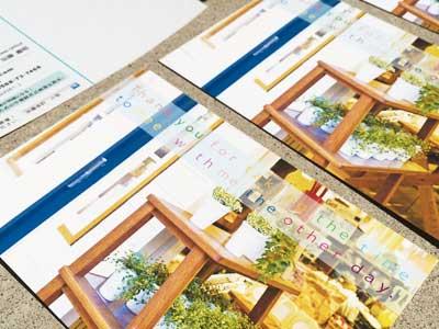 小牧市の加藤会計事務所様グリーディングカード制作